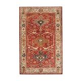 Authentic Pottery Barn 5x8 8x10 9x12 Channing Rust Hand Tufted Wool Rug Woolen Area Rug (3'X5')