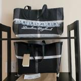 Burberry Bags | Burberry Black Doodle Canvas Tote Nwt | Color: Black/White | Size: Os