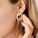 Zara Jewelry   Gold Double Hoop Earrings   Color: Gold   Size: Os