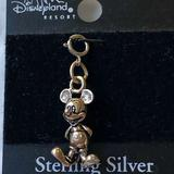 Disney Jewelry | Disney Sterling Silver Micky Mouse Charm New | Color: Silver | Size: Os