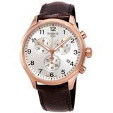 Chrono Xl Chronograph Silver Dial Watch 00 - Metallic - Tissot Watches