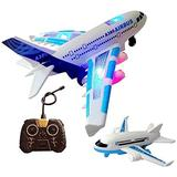 XiangRuiDa Electric Passenger Aircraft Resistant to Falling On The Ground Sound and Light Children s Toy Airplane 6-Year-Old Boy Aviation Model Remote Control AircraftBeautiful