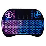 i8 2.4G Mini Wireless Keyboard with Touchpad?QWERTY Keyboard, Portable Wireless Keyboard with USB Receiver Remote Control for Laptop/PC/Tablets/Windows/Mac/TV/Xbox/PS3/Raspberry Pi .Black