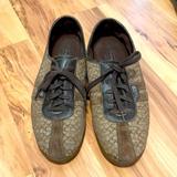 Coach Shoes   Coach Women Canvas Sneakers   Color: Brown   Size: 10
