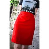 J. Crew Skirts | J. Crew Cherry Red Pencil Skirt | Color: Red | Size: 8