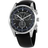 Completion Chronograph Quartz Black Dial Watch - Black - Calvin Klein Watches