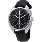Special Edition Moon Apollo Lunar Pilot Chronograph Black Dial Watch - Black - Bulova Watches