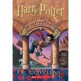 Harry Potter and the Sorcerer's Stone by J.K. Rowling Book, Multicolor