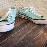 Converse Shoes | Converse Womens Chuck Taylor All Star Light Teal 7 | Color: Blue | Size: 7