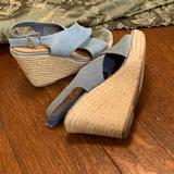 American Eagle Outfitters Shoes   Size 8 American Eagle Light Blue Heels   Color: Blue/Tan   Size: 8