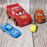 Disney Toys | Disney Pixar Cars Bundle Blemished Collectibles | Color: Blue/Red | Size: Os