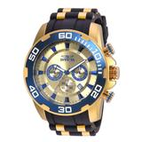 Invicta Pro Diver SCUBA Men's Watch - 50mm Gold Black (22343)