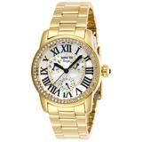Invicta Angel Women's Watch w/ Mother of Pearl Dial - 38mm Gold (28472)
