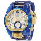 Invicta Bolt Bolt Zeus Magnum Anatomic Men's Watch - 52mm Gold Blue (29998)
