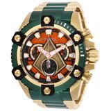 Invicta Men's 26910 DC Comics Quartz 3 Hand Orange Dial Watch