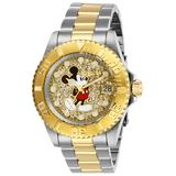 Invicta Disney Limited Edition Mickey Mouse Men's Watch - 40mm Steel Gold (27382)