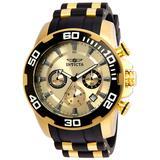 Invicta Pro Diver SCUBA Men's Watch - 50mm Gold Black (22346)