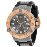 Pre-Owned Invicta Subaqua Noma III Automatic Men's Watch - 50mm Stainless Steel/Plastic Case Silicone/Plastic Band Black Dark Grey (AIC-31725)