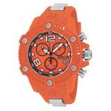 Invicta Reserve Octane Quartz Watch - Orange case with Orange tone Polyurethane band - Model 17291