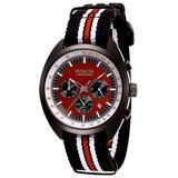 invicta Men's 29992 S1 Rally Quartz Chronograph Black Red Dial Watch