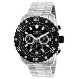 Pre-Owned Invicta Pro Diver Quartz Mens Watch - 48mm Stainless Steel Case Stainless Steel Band Steel (22516)