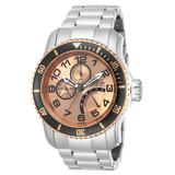 Pre-Owned Invicta Pro Diver Quartz Men's Watch - 48.8mm Stainless Steel Case Stainless Steel Band Steel (AIC-15338)