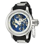 Invicta Russian Diver Mens Mechanical 51.5mm Stainless Steel Case White Dial - Model 80116