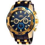 Invicta Pro Diver SCUBA Men's Watch - 50mm Gold Black (22341)