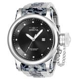 Invicta Russian Diver Mens Quartz 52mm Stainless Steel Grey Case Grey Dial - Model 23820