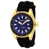 Pre-Owned Invicta Pro Diver Automatic Men's Watch - 46mm Stainless Steel Case Nylon Band Black (AIC-26025)
