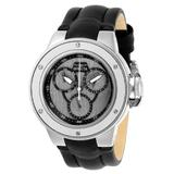 Pre-Owned Invicta Subaqua Quartz Women's Watch - 42mm Stainless Steel Case Leather Band Black (AIC-28259)