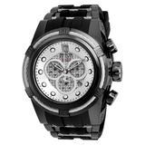 Invicta Jason Taylor Mens Quartz Watch Stainless Steel Polyurethane band - Model 20414