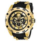 Invicta Marvel Punisher Men's Watch - 52mm Gold Black (26860)