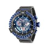 Invicta SHAQ Men's Watch w/ Metal Mother of Pearl Oyster Dial - 53mm Black Dark Blue (33415)