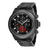 #1 LIMITED EDITION - Invicta Star Wars Darth Vader Automatic Mens Watch w/ 0.75 Carat Diamonds - 47mm Stainless Steel Case SS Band Black (27164)