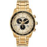 Brycen Eco-drive Chronograph Bracelet Watch - Metallic - Citizen Watches