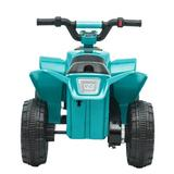 Banchy&Beauty Electric Vehicle Atv Quad Ride On Car Toy 4-wheel Motorcycle W/head, Tail Lights, Music, Horn() Plastic in Blue | Wayfair