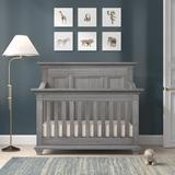 Viv + Rae™ Casie 4-in-1 Convertible Crib Wood in Gray, Size 52.0 H x 32.0 W in | Wayfair FCC6EEFCB2DF41E5A16700BF7FE34C90