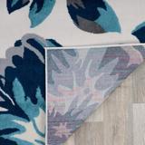 """Red Barrel Studio® Modern Floral Runner Rug 2' X 7' 2""""Synthetics, Size 0.3 H x 47.0 W x 24.0 D in   Wayfair 91A606DEF96842D0947275B32964F3E9"""