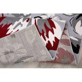 "Red Barrel Studio® Modern Floral Runner Rug 2' X 7' 2""Synthetics, Size 0.3 H x 47.0 W x 24.0 D in   Wayfair B9791717DAF542EBA979EC8A4D218182"