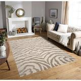 Everly Quinn Area Rug WFR15666 in White, Size 0.75 D in   Wayfair 55DFAD1733B74CAB9ACD98B63DDF7299