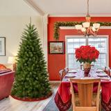 Andover Mills™ North Valley Spruce Christmas Tree in Green, Size 91.0 H x 52.0 W in   Wayfair 041BD692DC074F32B9360639756AB2C7