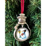 The Holiday Aisle® JFK Half Dollar Snowman Ornament w/ Colorized Snowman Coin in Gray, Size 2.75 H x 2.0 W x 1.0 D in | Wayfair