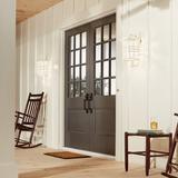 Latitude Run® Barton 1 - Bulb Outdoor Wall Lantern in White, Size 14.25 H x 8.0 W in | Wayfair 46ED64DB3C304D4CB2007FC0BEDABF94