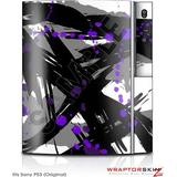 Sony PS3 Skin Abstract 02 Purple