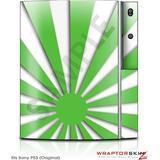 Sony PS3 Skin Rising Sun Japanese Green