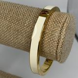 Kate Spade Jewelry | Kate Spade Clean Slate Magnetic Hinge Bracelet | Color: Gold/White | Size: Os