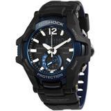 G-shock Gravitymaster Alarm World Time Quartz Analog-digital Watch -1a2 - Black - G-Shock Watches