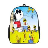 Backpack Snoopy Kids School Bags Lightweight Bag For Teens Boys Girls Features Padded Back And Adjustable Strap