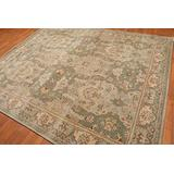 Old Hand Made Haynes Floral Traditional Persian Oriental Woolen Area Rugs (9'x12')